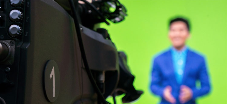 Webinar in eigen huisstijl – green screen - OnlineSeminar